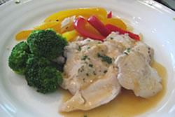 鶏胸肉の野菜蒸し煮
